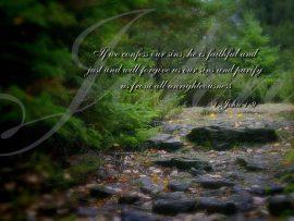 Papel de parede 1 João 1:9