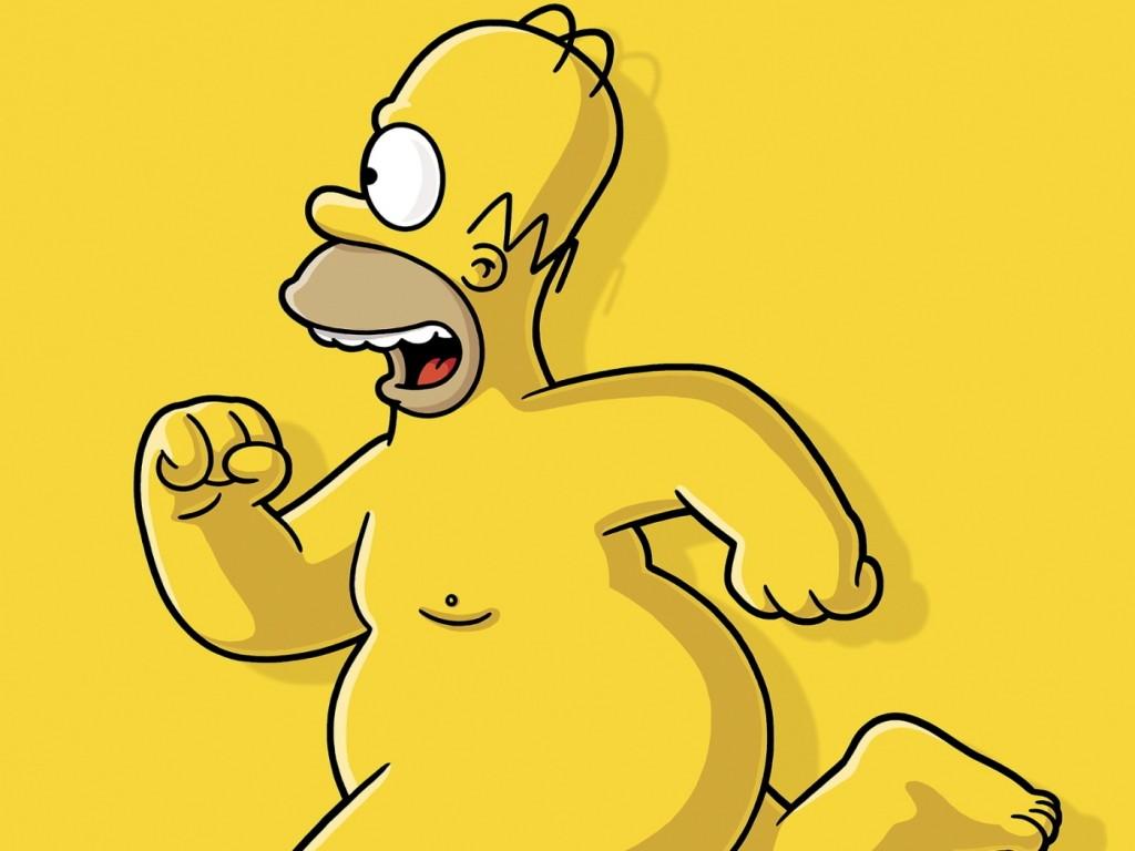 Papel de parede Homer Simpson Sem Camisa para download gratuito. Use no computador pc, mac, macbook, celular, smartphone, iPhone, onde quiser!