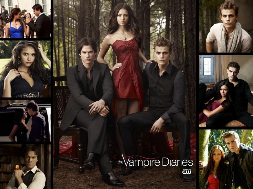 Papel de parede Elenco de Vampire Diaries para download gratuito. Use no computador pc, mac, macbook, celular, smartphone, iPhone, onde quiser!