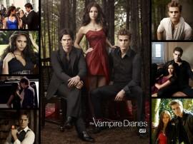 Papel de parede Elenco de Vampire Diaries