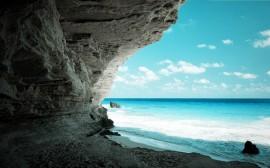 Papel de parede Rocha do Oceano