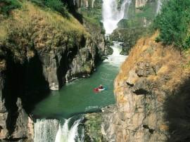 Papel de parede Kayaking