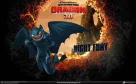 Papel de parede Fúria da Noite – Como Treinar Seu Dragão