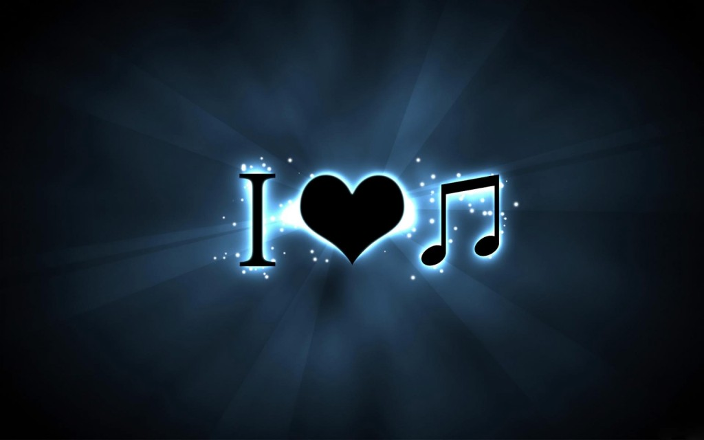 Papel de parede I Love Music para download gratuito. Use no computador pc, mac, macbook, celular, smartphone, iPhone, onde quiser!