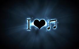 Papel de parede I Love Music