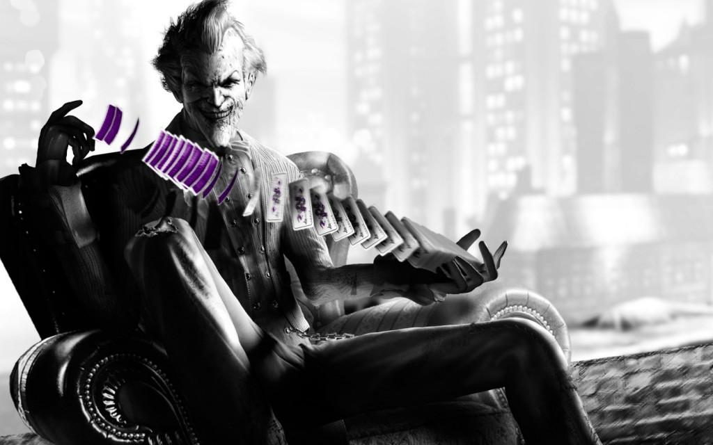 Papel de parede Coringa de Arkham City – Batman para download gratuito. Use no computador pc, mac, macbook, celular, smartphone, iPhone, onde quiser!