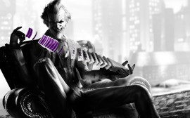 Papel de parede Coringa de Arkham City – Batman