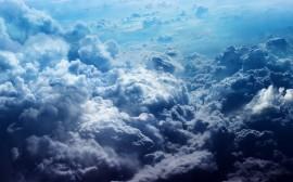 Papel de parede Nuvens Cinzentas