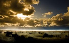 Papel de parede Pôr-Do-Sol do Pacífico