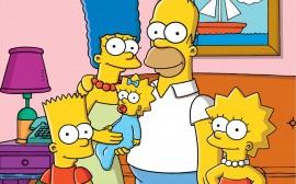 Papel de parede Os Simpsons Simples