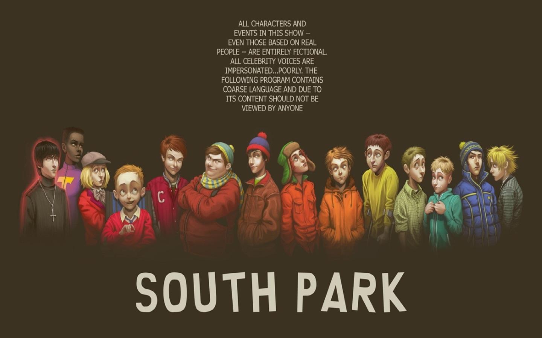 Papel De Parede South Park Realista