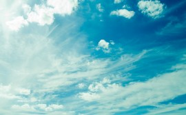 Papel de parede Céu de Verão