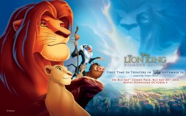 Papel de parede O Rei Leão Com Mufasa