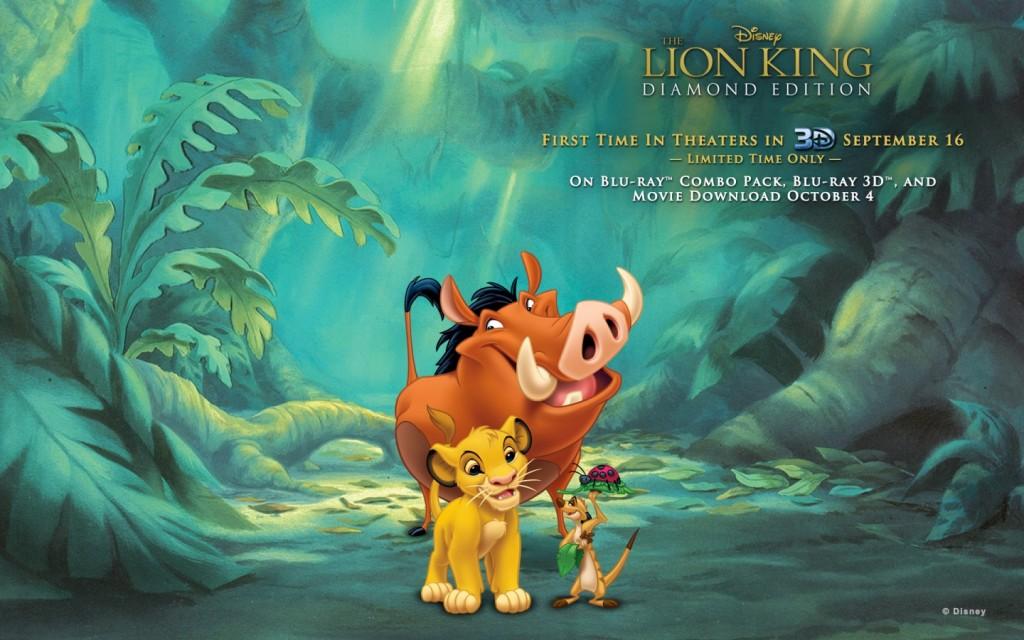 Papel de parede Cena de O Rei Leão – Hakuna Matata para download gratuito. Use no computador pc, mac, macbook, celular, smartphone, iPhone, onde quiser!
