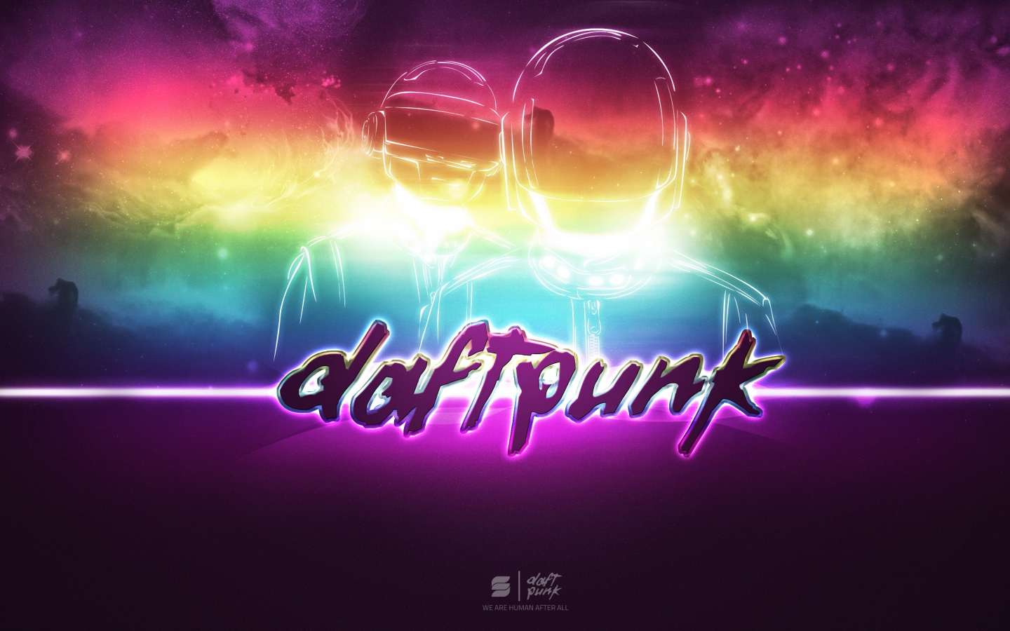 Papel de parede daft punk wallpaper para download no for Imagenes para wallpaper
