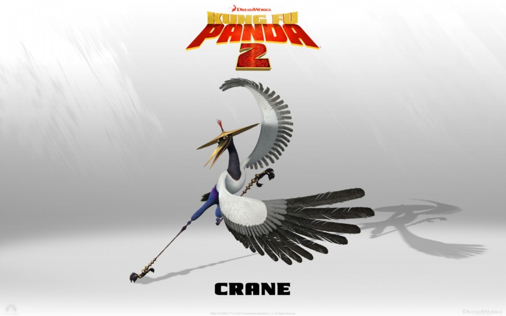 Papel de parede Mestre Crane – Kung Fu Panda para download gratuito. Use no computador pc, mac, macbook, celular, smartphone, iPhone, onde quiser!