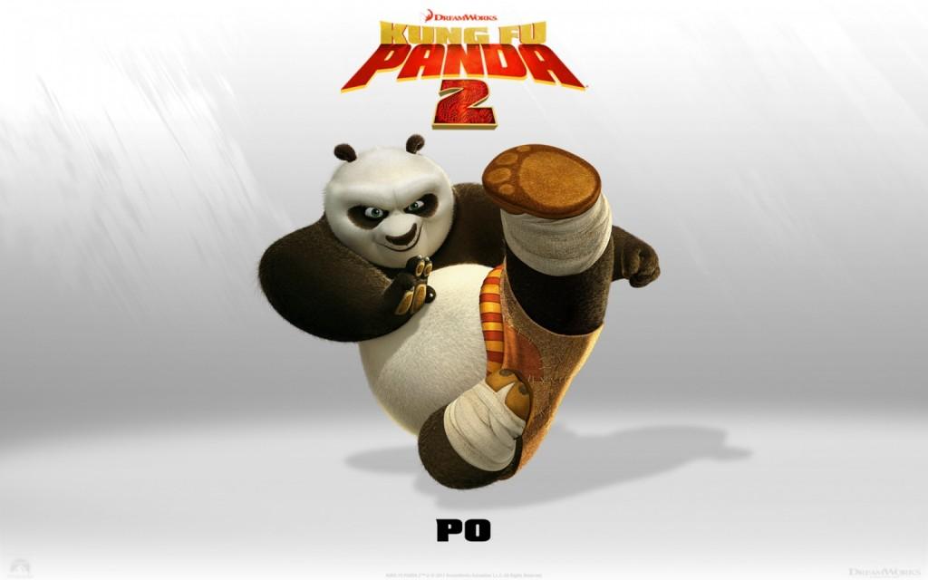 Papel de parede Po –  Kung Fu Panda 2 para download gratuito. Use no computador pc, mac, macbook, celular, smartphone, iPhone, onde quiser!