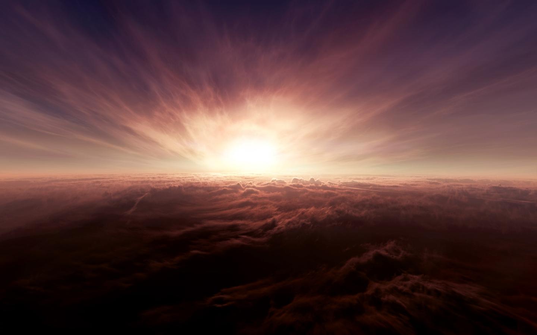 Papel de parede sol por trs das nuvens wallpaper para download no clique aqui thecheapjerseys Choice Image