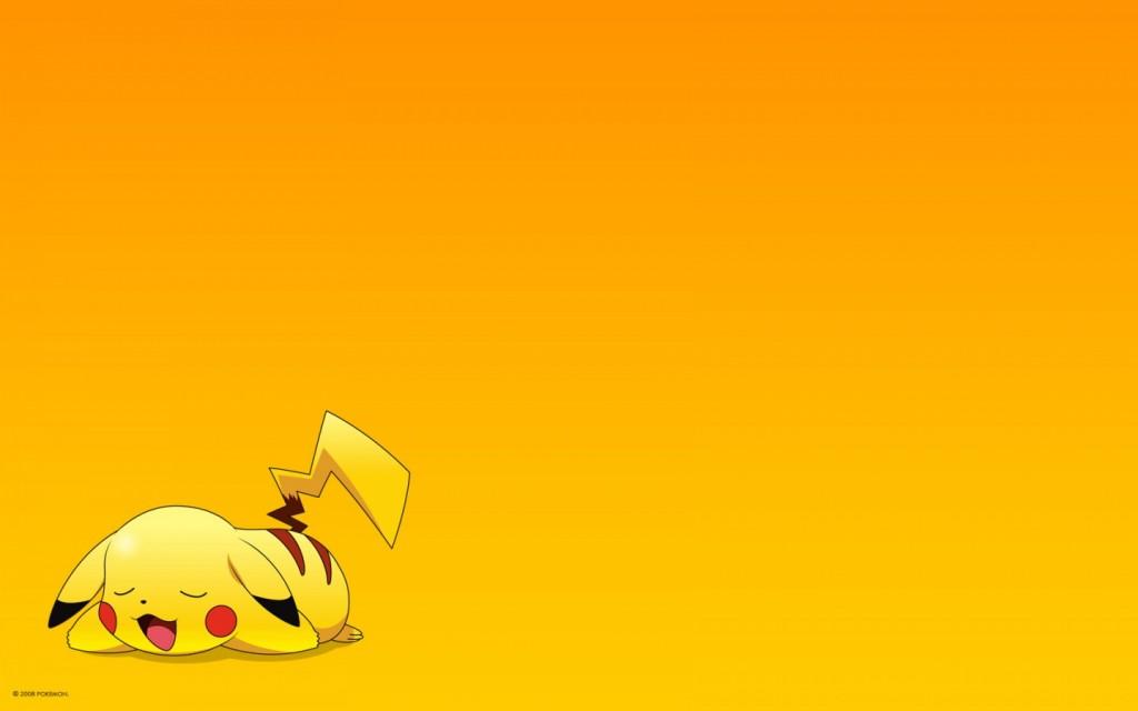 Papel de parede Pikachu Dormindo para download gratuito. Use no computador pc, mac, macbook, celular, smartphone, iPhone, onde quiser!