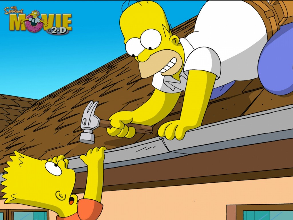 Papel de parede Os Simpsons –  O Filme para download gratuito. Use no computador pc, mac, macbook, celular, smartphone, iPhone, onde quiser!