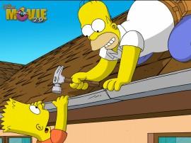 Papel de parede Os Simpsons –  O Filme