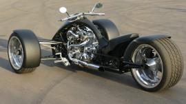 Papel de parede Triciclo Chopper