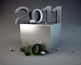 Papel de parede 2010 já passou, que venha 2011