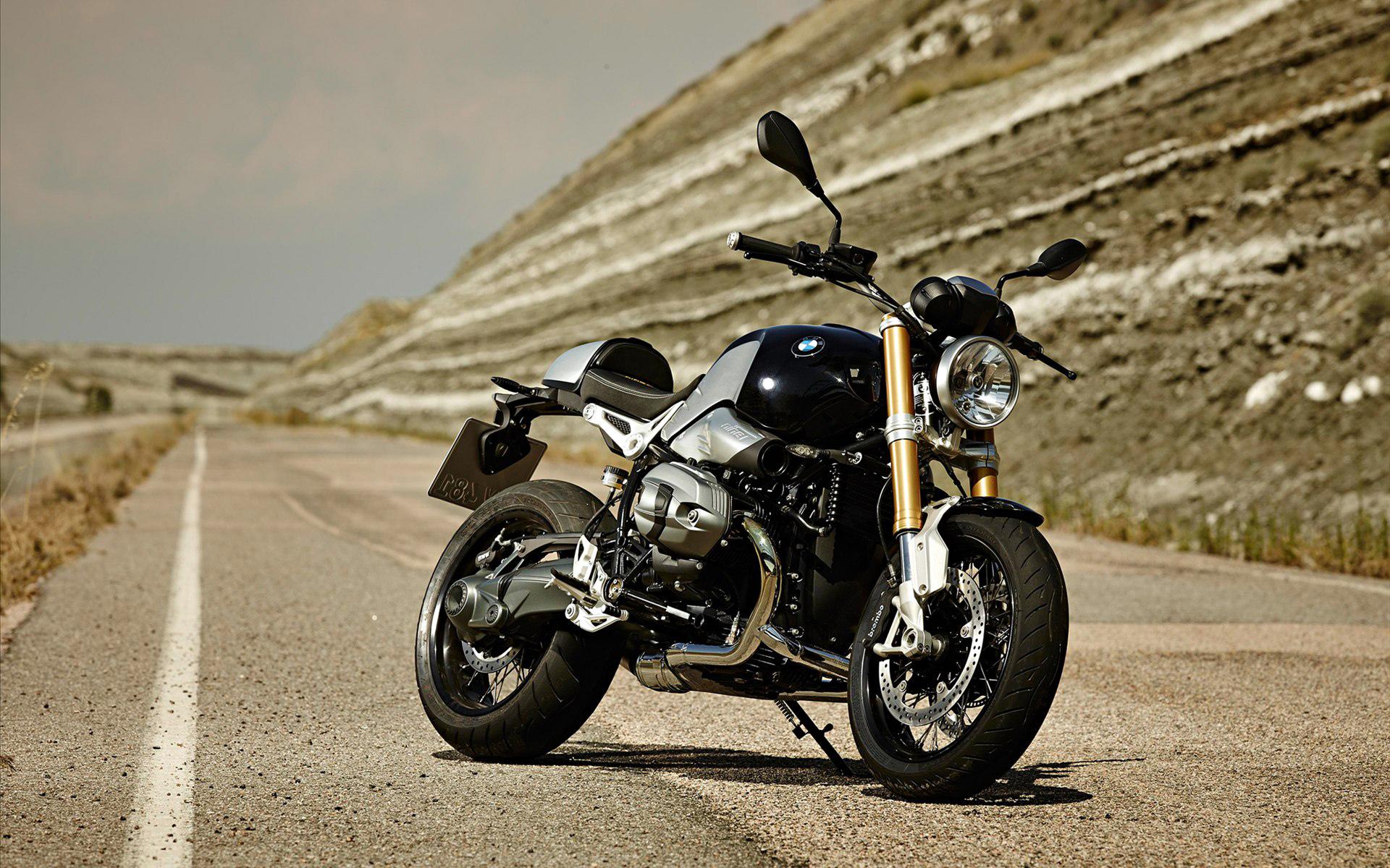 Foto imagem 'Moto Retrô BMW R nineT'