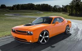 Papel de parede Dodge Challenger 2014 Laranja