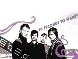 Papel de parede 30 Seconds to Mars – Banda Americana