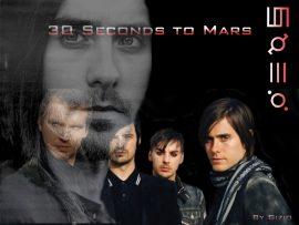 Papel de parede 30 Seconds to Mars – Banda de Rock