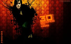 Papel de parede 30 Seconds to Mars – Vocalista
