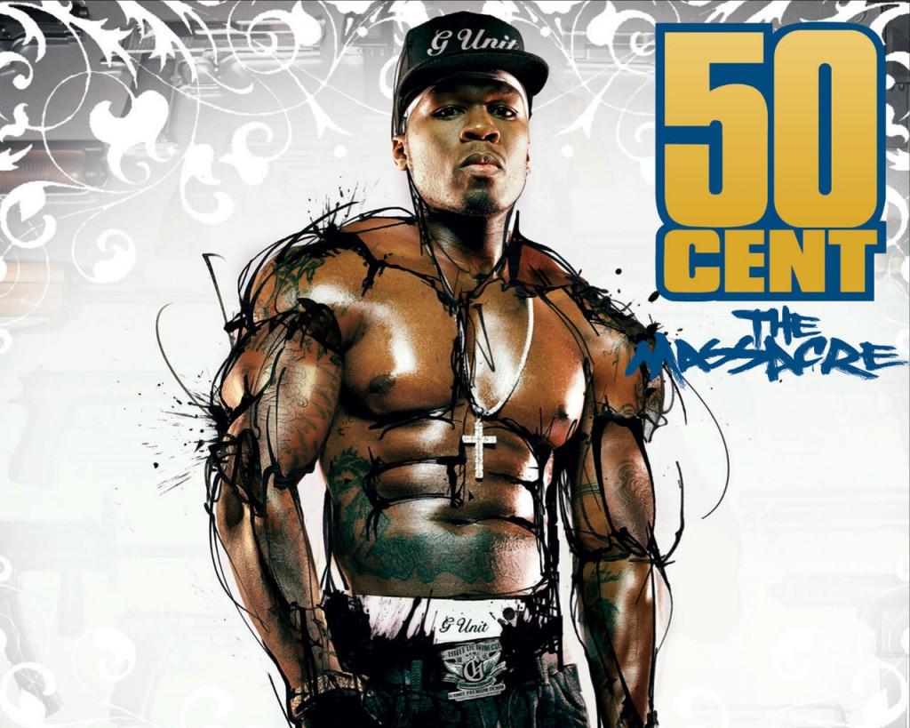 Papel de parede 50 Cent The Massacre para download gratuito. Use no computador pc, mac, macbook, celular, smartphone, iPhone, onde quiser!