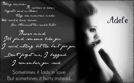 Papel de parede Adele: Someone Like You