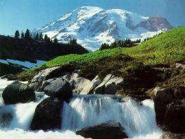 Papel de parede Água da montanha
