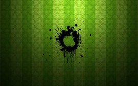 Papel de parede Apple: Verde