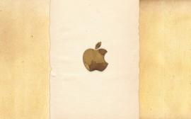 Papel de parede Apple: Papel Antigo