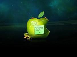 Papel de parede Apple: Surreal