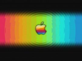 Papel de parede Apple: Colorido