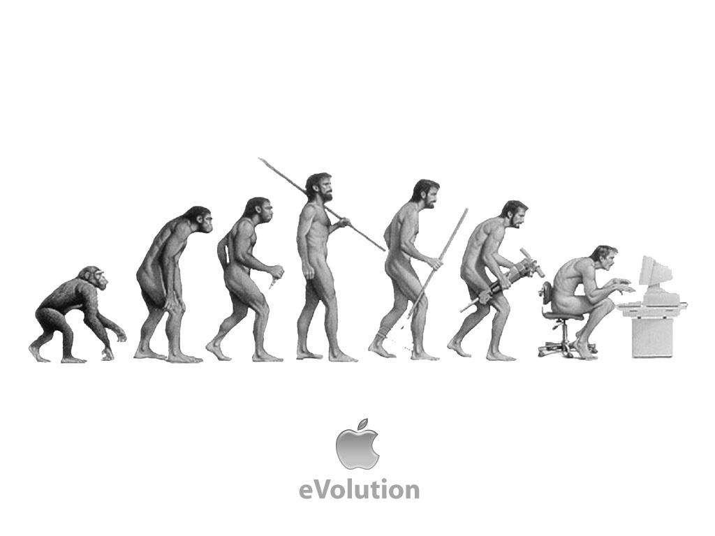 Papel de parede Apple: eVolução para download gratuito. Use no computador pc, mac, macbook, celular, smartphone, iPhone, onde quiser!