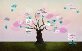 Papel de parede Árvore – Twitter