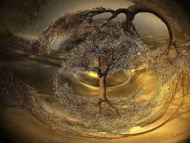 Papel de parede Árvore Abstrata