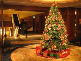 Papel de parede Árvore de Natal em Casa