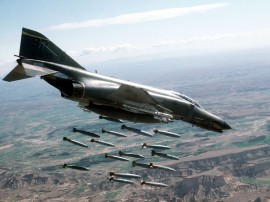 Papel de parede Avião – Bombas