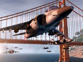 Papel de parede Avião – Sob a Ponte