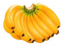 Papel de parede Muitas Bananas