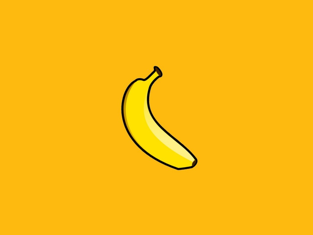 Papel de parede Desenho de Banana para download gratuito. Use no computador pc, mac, macbook, celular, smartphone, iPhone, onde quiser!