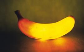 Papel de parede Banana Iluminada