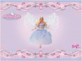Papel de parede Barbie Lago do Cisnes