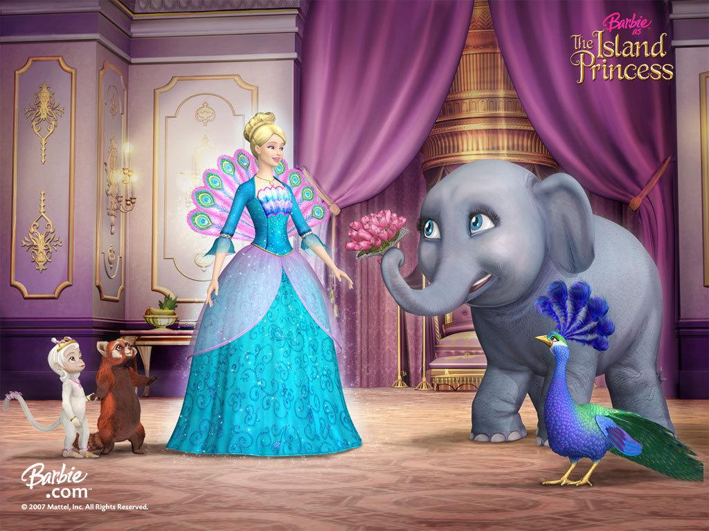 Papel de parede Barbie e os Animais para download gratuito. Use no computador pc, mac, macbook, celular, smartphone, iPhone, onde quiser!